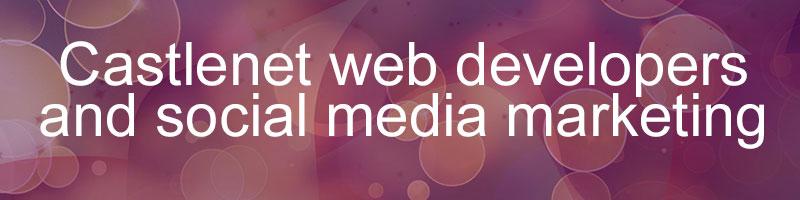 Castlenet web developers and social media marketing web services.