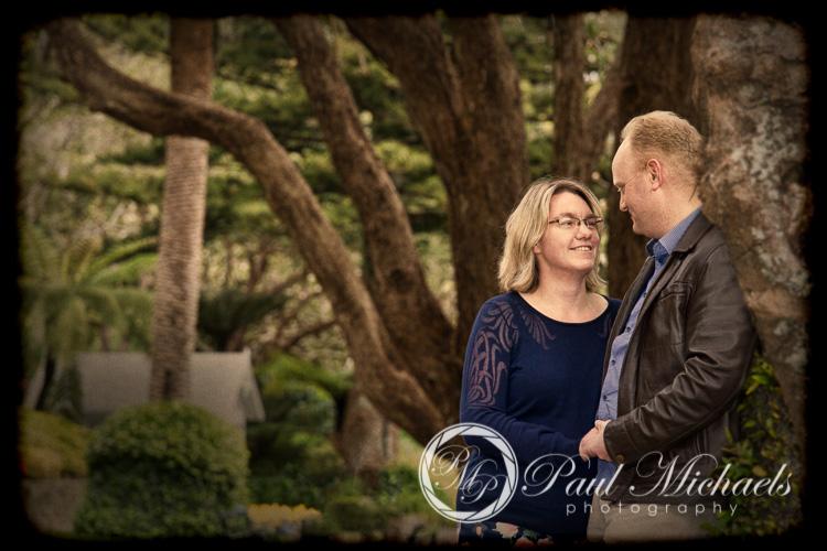 Matt and Sarah engagement pictures at Wellington gardens.