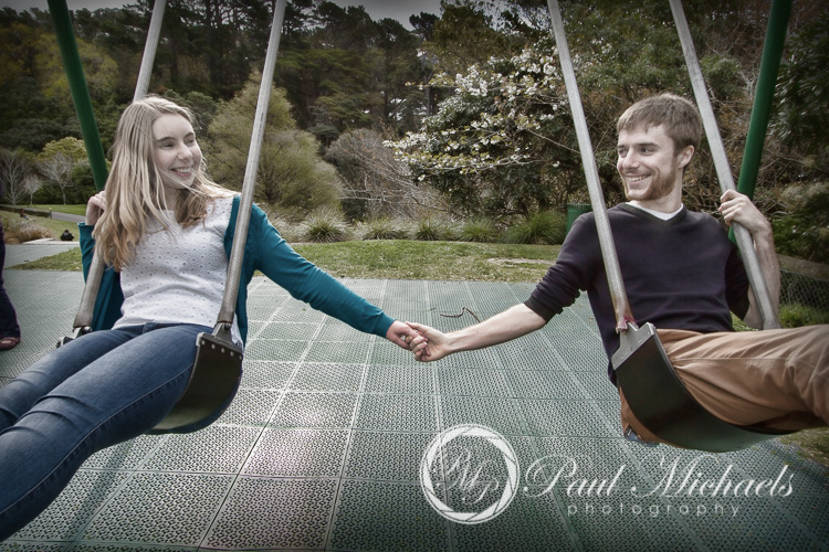 Engagement portraits with David and Amy.
