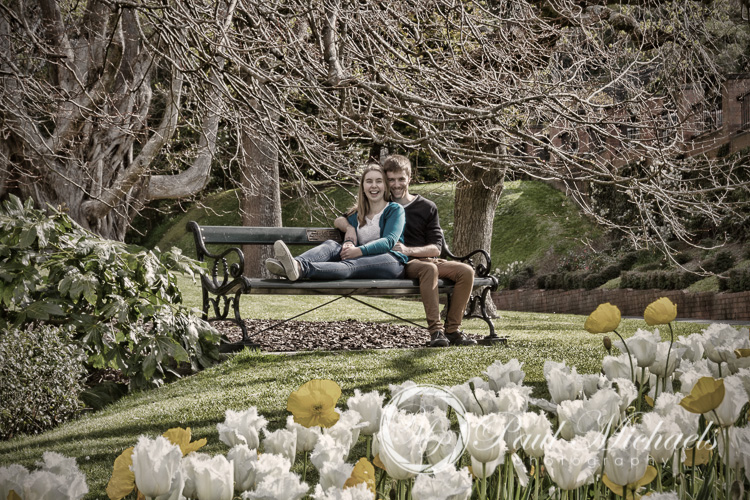 Photoshoot with David and Amy in the botanical gardens.