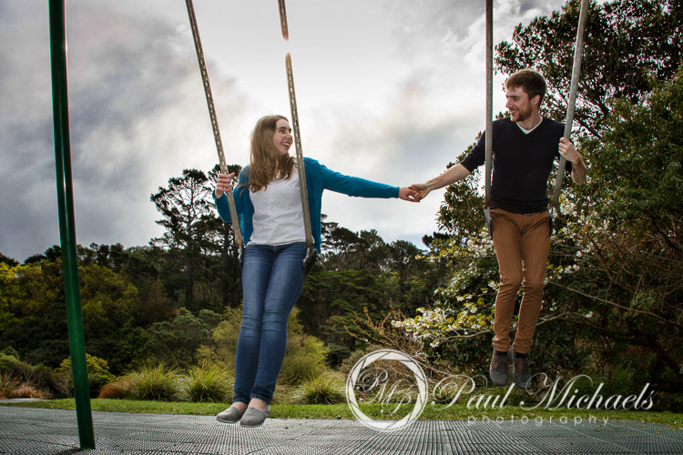 Fun engagement photos with David and Amy.