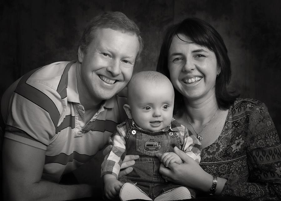 Photograhers, Paul and Lynnette with son Reuben.