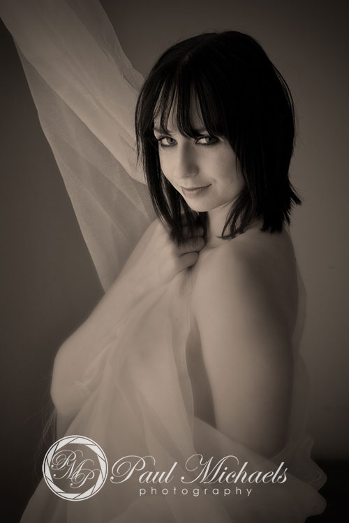 Boudoir portraits in the Wellington studio with PaulMichaels photography.
