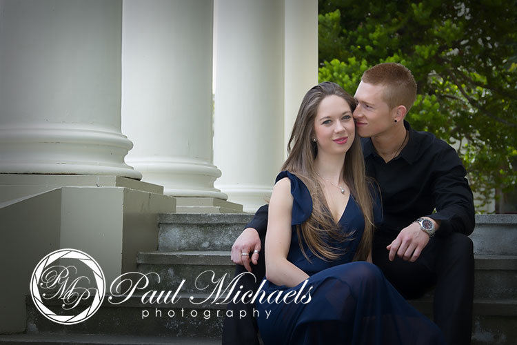 Wellington couple's portraits.