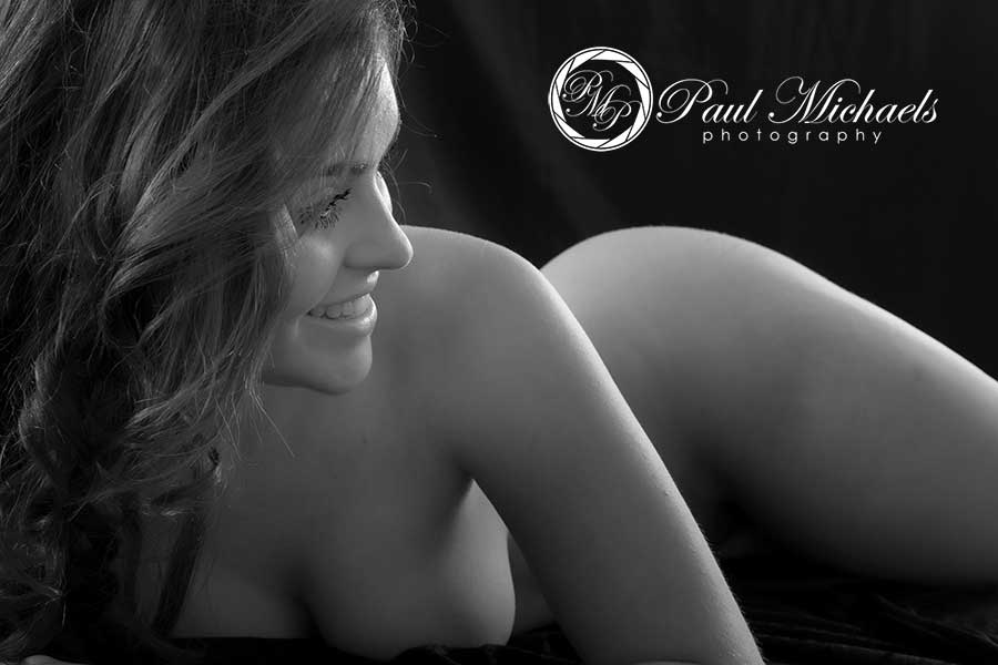 Boudoir portrait photography.